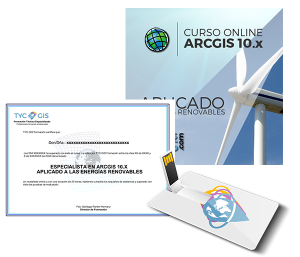 ArcGIS aplicado a Energias Renovables usb certificado