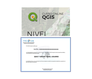 QGIS Y GRASS - Nivel Usuario Certificado