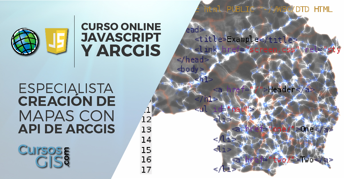 Especialista en ArcGIS y JavaScript Mapas API
