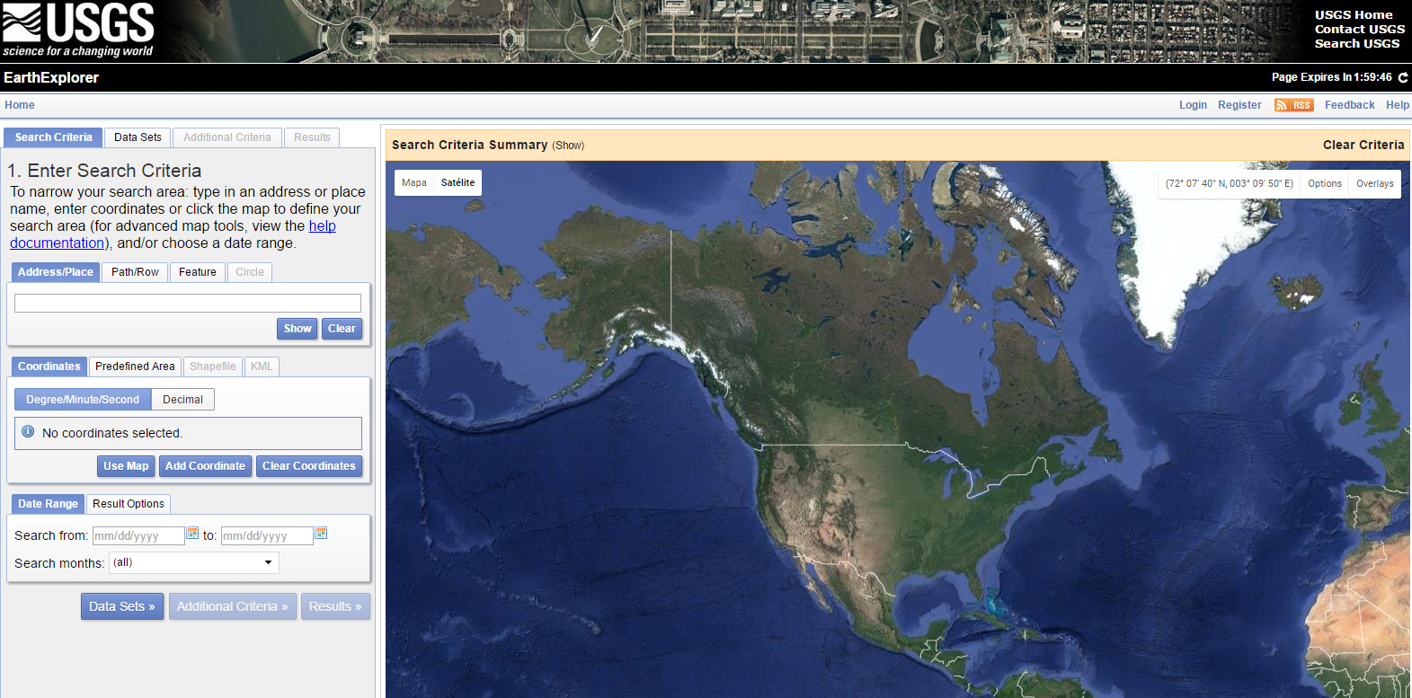15 fuentes gratuitas de descarga de datos gis usgs earth explorer gumiabroncs Image collections