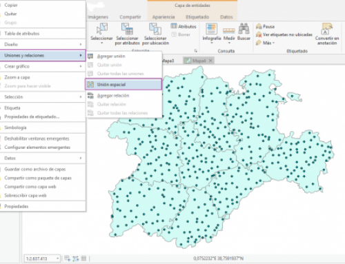 Joins, Relates and Spatials Joins (Uniones, Relaciones y uniones Espaciales) en ArcGIS Pro