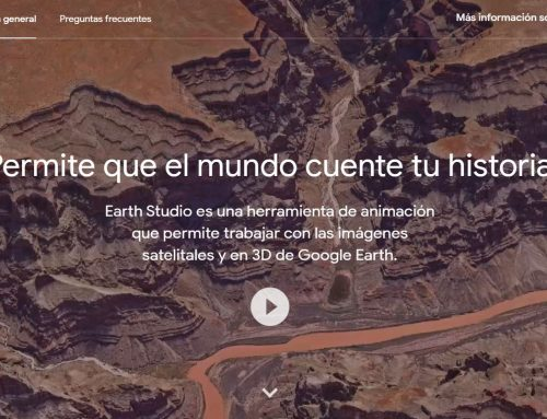 ¿Qué es Google Earth Studio?