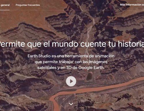 ¿Qué es Google Earth Studio?