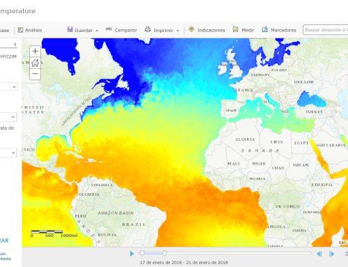 ¿Cómo se pueden visualizar datos marinos?