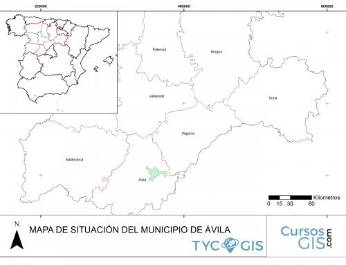Composición de mapas con ArcGIS
