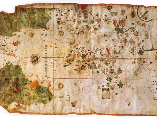 Juan de la Cosa y el primer mapamundi con el continente americano
