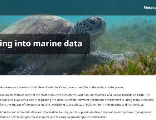 Nueva plataforma para la búsqueda de datos marinos: Ocean+ Data de la UNEP
