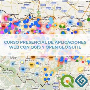 Presencial Palicaciones Web von QGIS y Opengeo Suite