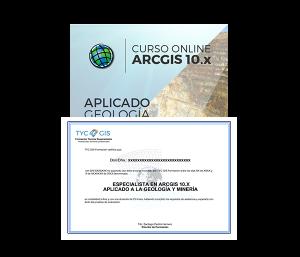 ArcGIS - Aplicado a la Geología y Mineria Certificado