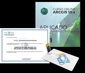 ArcGIS - Aplicado al Medio Ambiente Certificado y USB