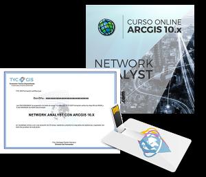 ArcGIS - Network Analyst con ArcGIS certificado y USB