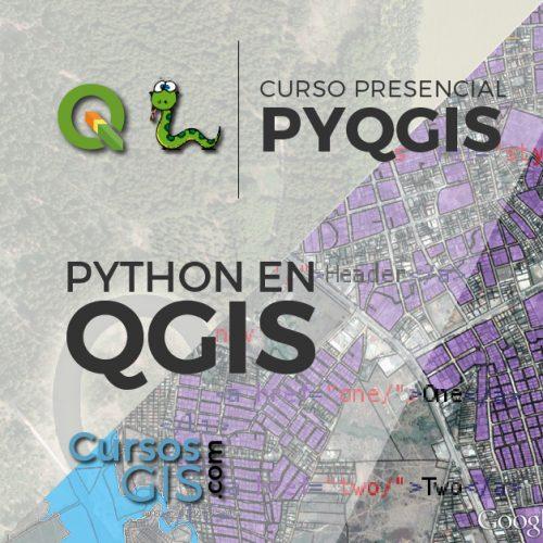 Curso Presencial Python en QGIS