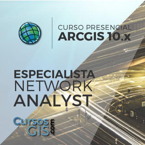 Curso Presencial arcgis especialista en network