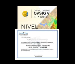 Especialista en GvSIG Certificado
