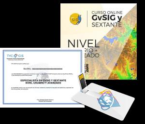 Especialista en GvSIG USB y Certificado