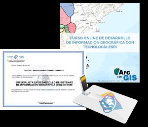 Especialista en SIG con Tecnologia ESRI USB y Certificado