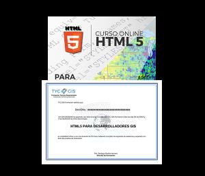 HTML5 para desarrolladores GIS certificado
