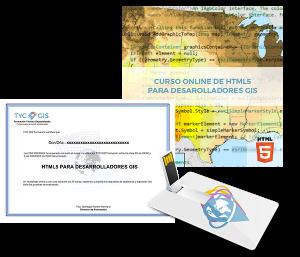 HTML5 para desarrolladores GIS certificado yUSB