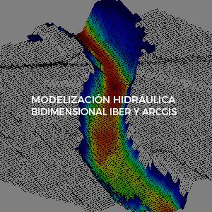 Hidraulica bidimensional iber y arcgis inv