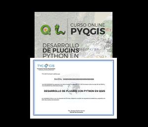 Plugins con Python en QGIS Certficado
