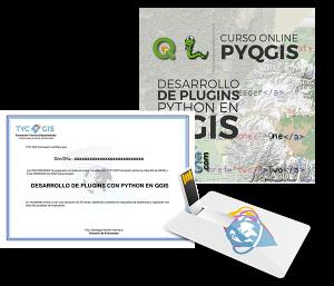 Plugins con Python en QGIS Certficado y USB