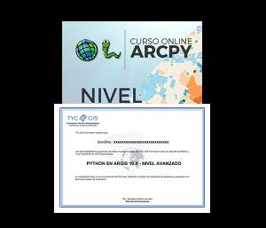 Python en Arcgis - Nivel Avanzado certificado