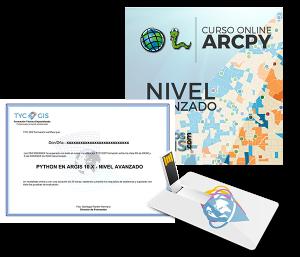 Python en Arcgis - Nivel Avanzado certificado y usb