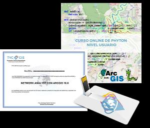 Python en Arcgis - Nivel Usuario certificado y usb