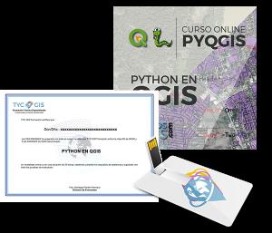 Python en QGIS certificado y usb