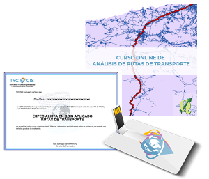 QGIS Aplicado a Rutas de Transporte Certificado y USB
