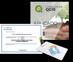 QGIS Aplicado al Medio Ambiente Certificado y USB