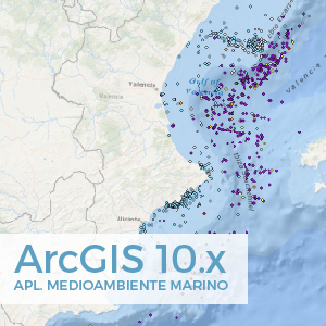 arcgis aplicado al medio marino