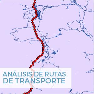 qgis analisis de rutas de transporte