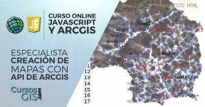 Especialista en ArcGIS y JavaScript Mapas API