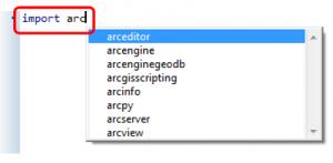 pyscripter_arcpy_9