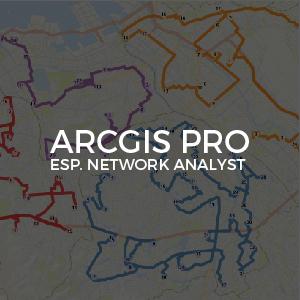 ArcGIS Pro Esp network analyst Inv