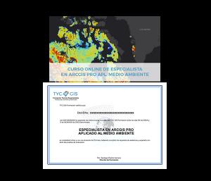 ArcGIS Pro Medio Ambiente Certificado