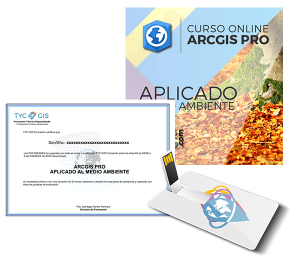 ArcGIS Pro Medio Ambiente USB Certificado