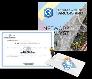 ArcGIS Pro Network analyst USB Certificado