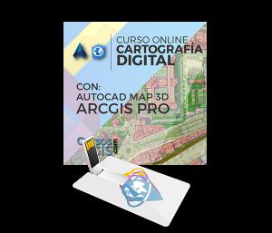 Cartografía Digital con AutoCAD Map y ArcGIS Pro 3