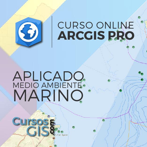 Curso Online de Arcgis Pro Aplicado al MEdio Ambiente Marino
