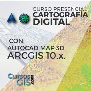 Curso Presencial cartografia digital arcgis