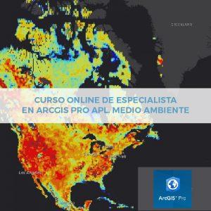 Online Especialista en ArcGIS Pro Medio Ambiente