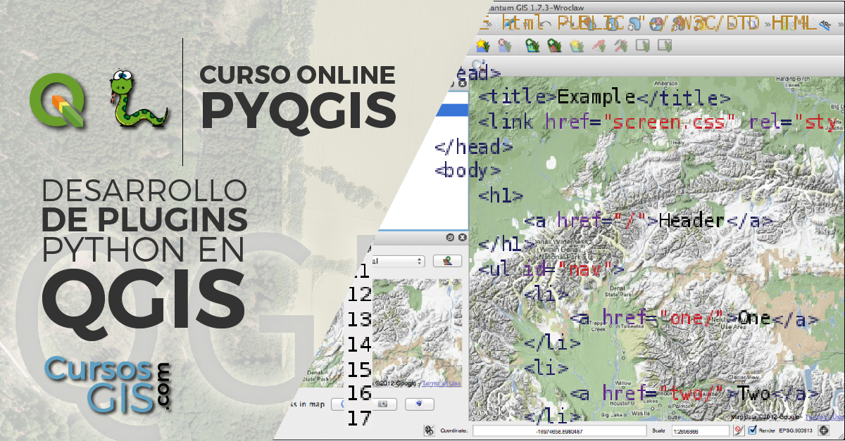 Online plugins en pyQGIS python en Qgis