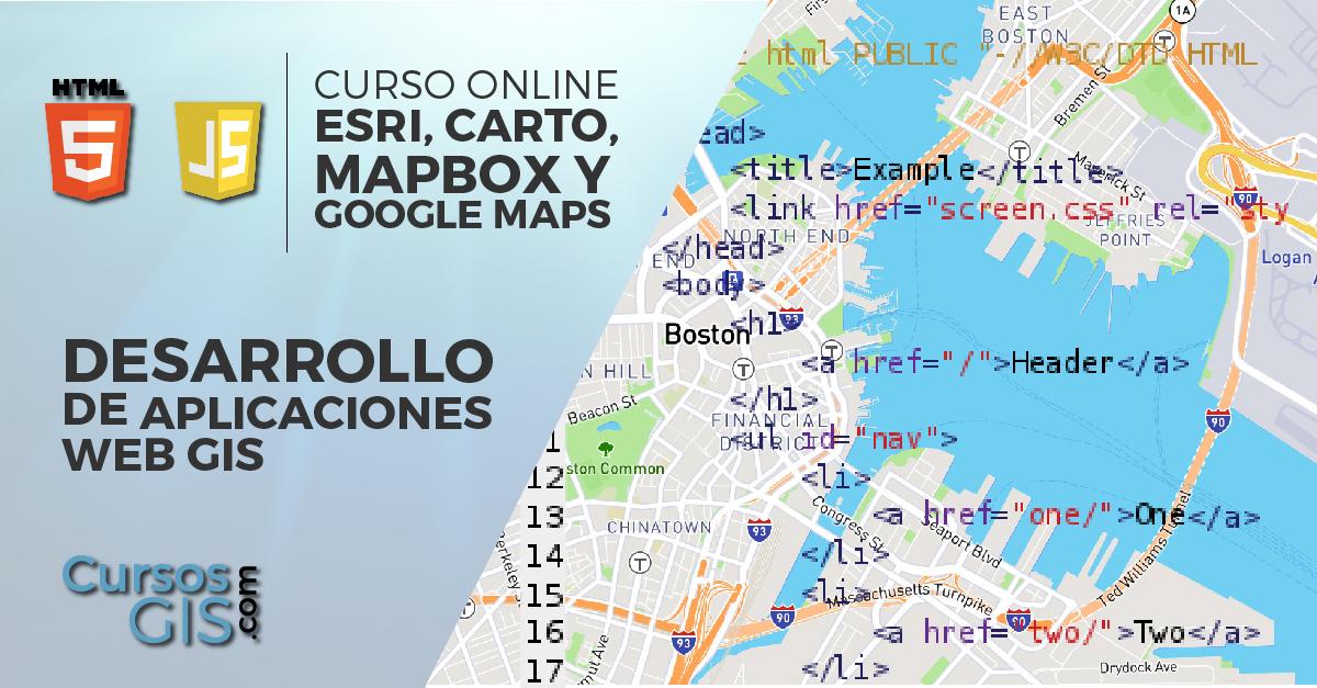 Curso Online desarrollo aplicaciones CARTO