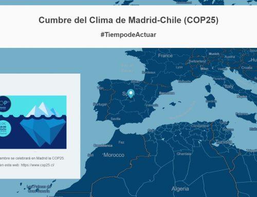 Contando una historia sobre la COP25 con la nueva aplicación de Mapbox