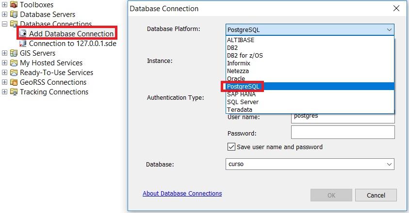 Cómo incorporar bases de datos incluidas en PostGIS en