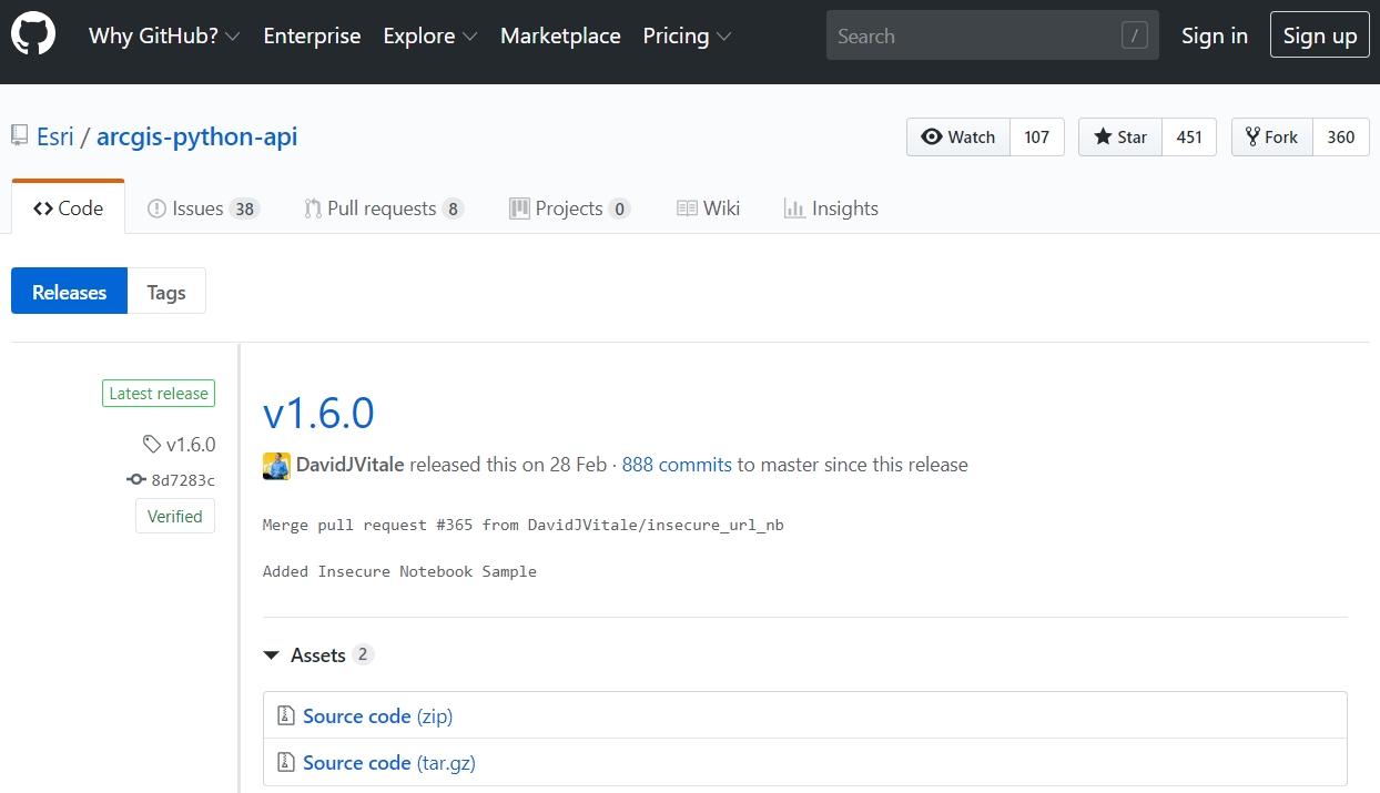 Qué es ArcGIS API for Python de Esri?