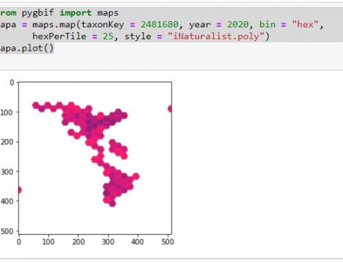 Descarga de datos de Biodiversidad con Python