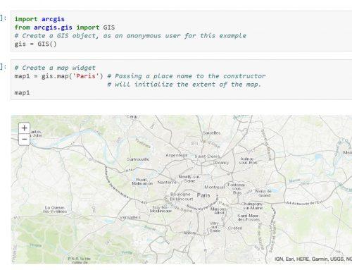 ¿Por qué Python es el futuro del Web GIS?